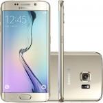 Samsung Galaxy S6 Edge Dourado Desbloqueado 64GB